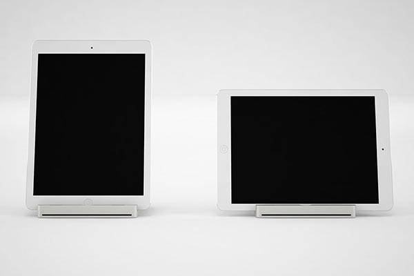 The Simple Aluminum Ipad Stand Shows Off Built In Audio