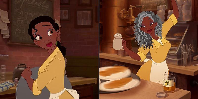 May Girls Wallpaper What The Charming Disney Princesses Look Like In Old Age