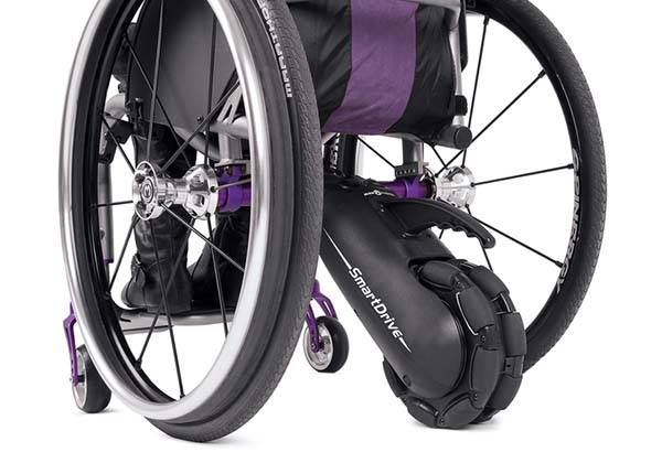 Smartdrive Mx2 Is A Power Assist Device For Wheelchairs