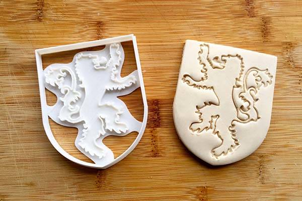 Cookie Cutters 3d Printed Game Of Thrones Sigil Cookie Cutters | Gadgetsin