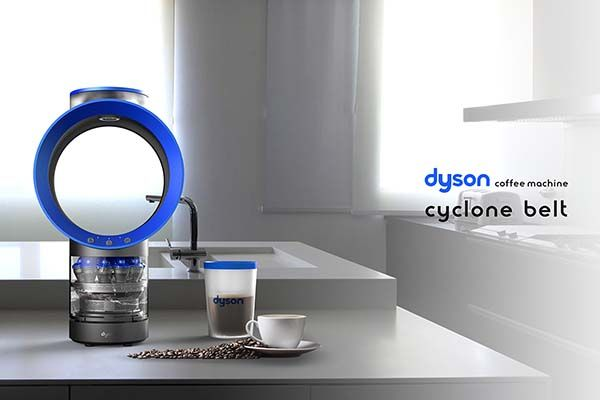 Drip Coffee The Concept Cyclone Belt Coffee Machine Inspired By Dyson