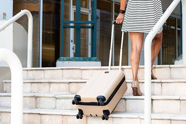Traxpack Stair Climbing Luggage With Bluetooth Tracker
