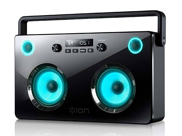Amplifier Power Spectraboom Bluetooth Boombox With Light-up Speakers