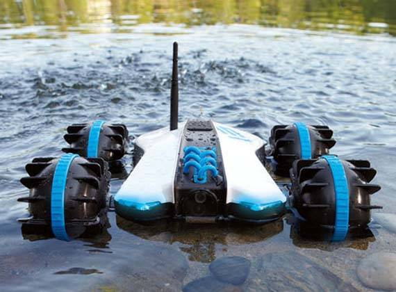 Sports Bikes Rover Land & Sea Amphibious App-controlled Vehicle With