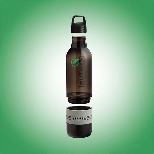 Outdoor Storage Re-fuel 2-in-1 Water Bottle With Integrated Bluetooth