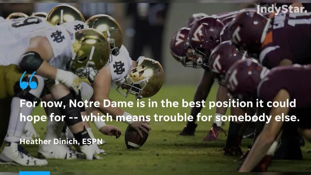 Notre Dame football LB Asmar Bilal patience pays off, making an impact