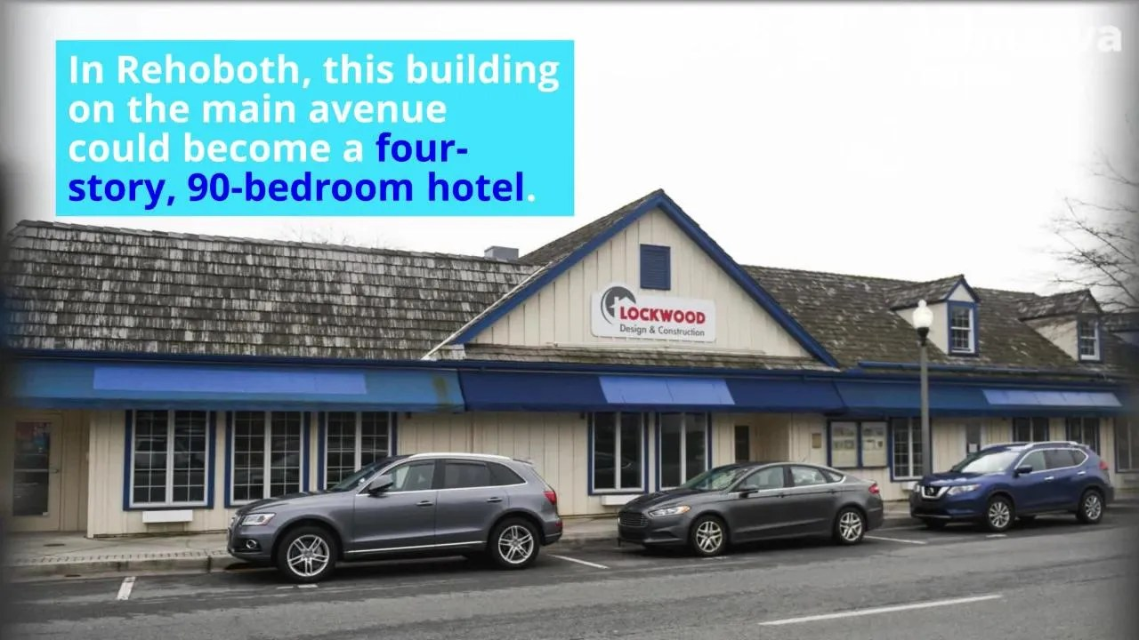 Hotel Rehoboth Watch New Hotels In Rehoboth Lewes And Other Sussex Beach Towns What To Expect