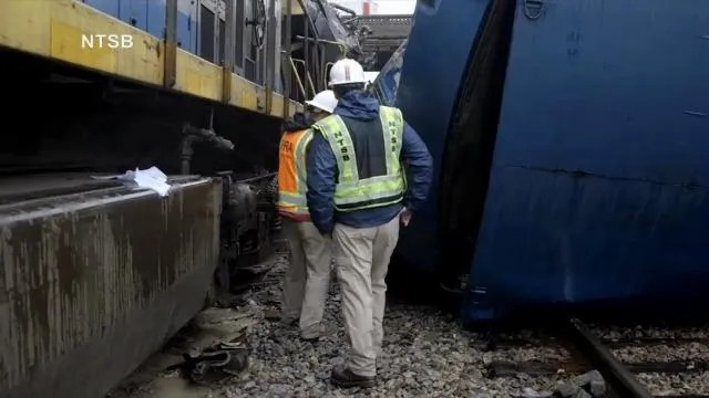 Safety investigators urge trains to slow down in construction zones