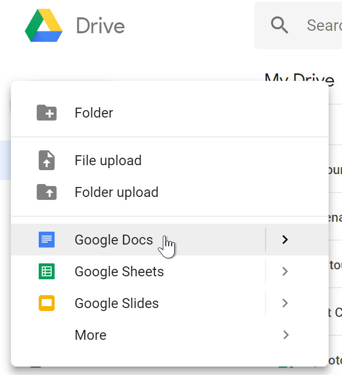 Google Sheets Creating Google Docs