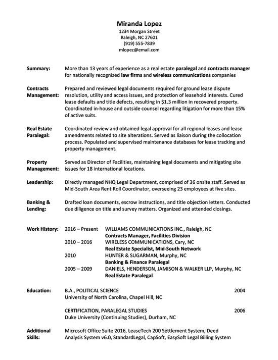 Resume Writing Gallery of Sample Resumes - Full Page - Different Formats Of Resumes