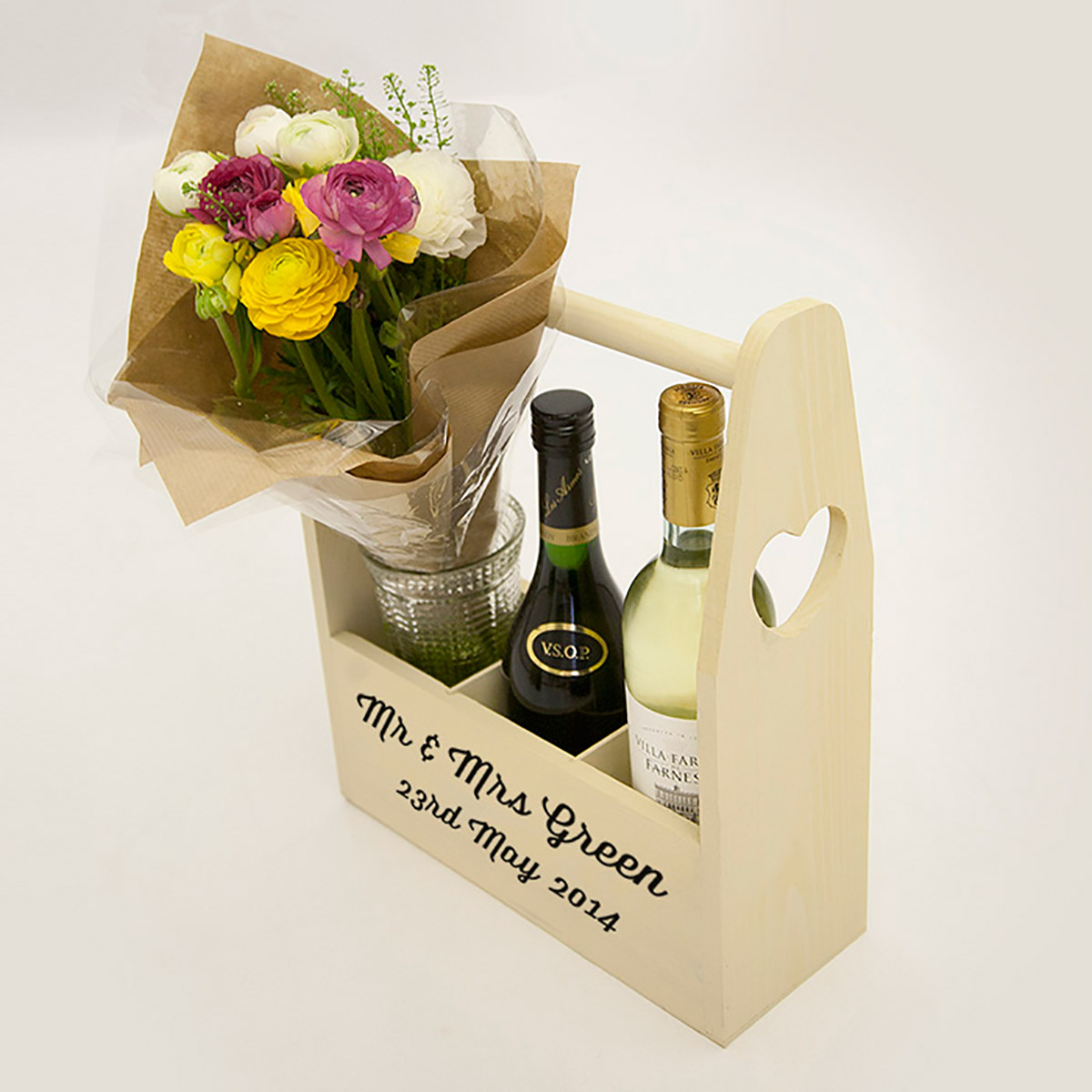 Wine Holders For Gifts Personalised Wine Holder Gettingpersonal Co Uk