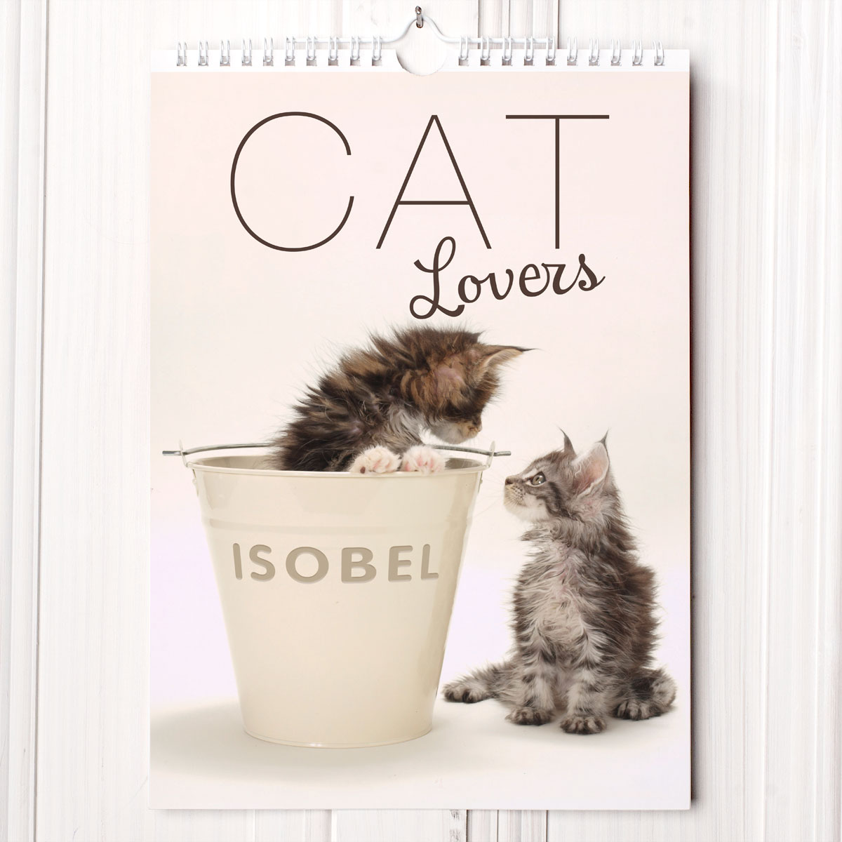 Unique Cat Lover Gift Personalised Calendar Cat Lovers Gettingpersonal Co Uk