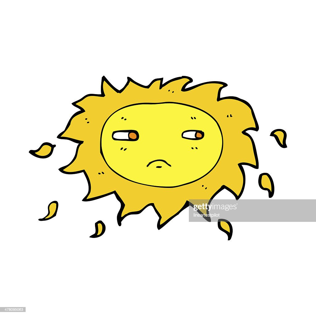 Sonne Bilder Comic Comic Traurig Sonne Stock Illustration Getty Images