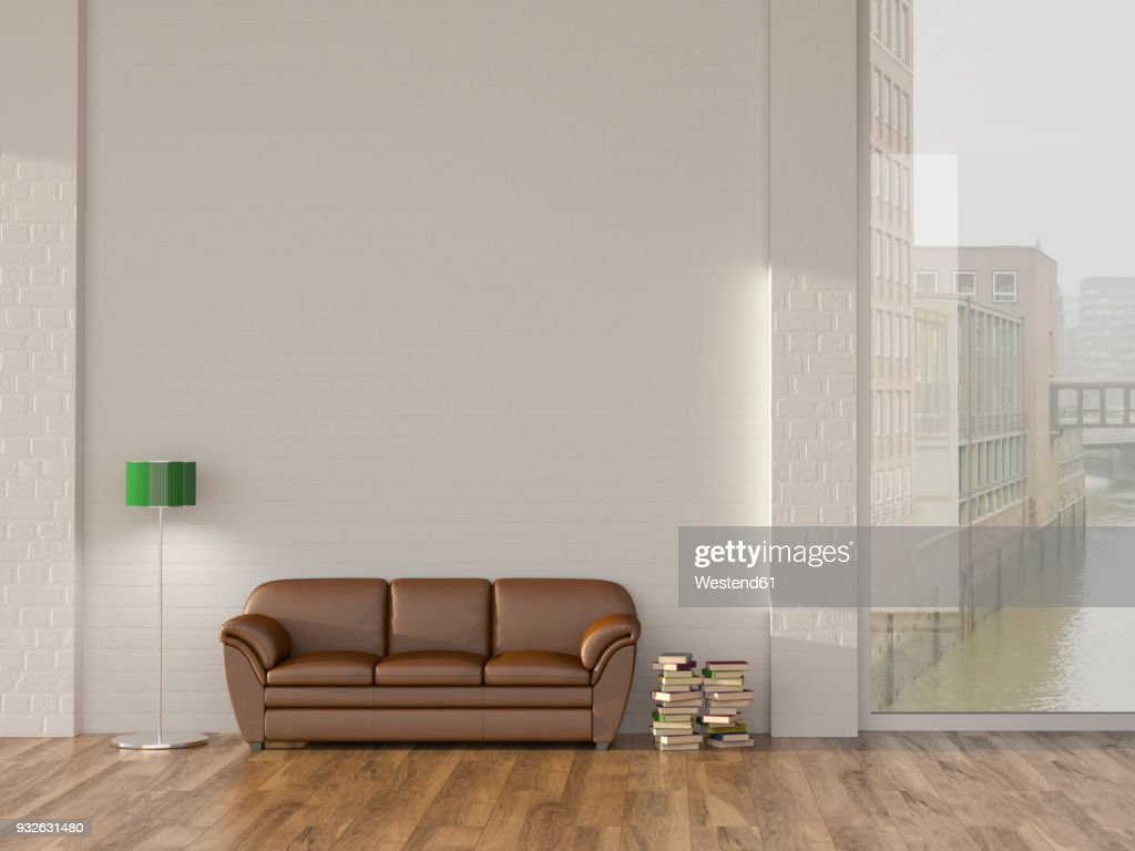 Sofa Hamburg Floor Lamp And Sofa In Room With Books Andview On Hamburg