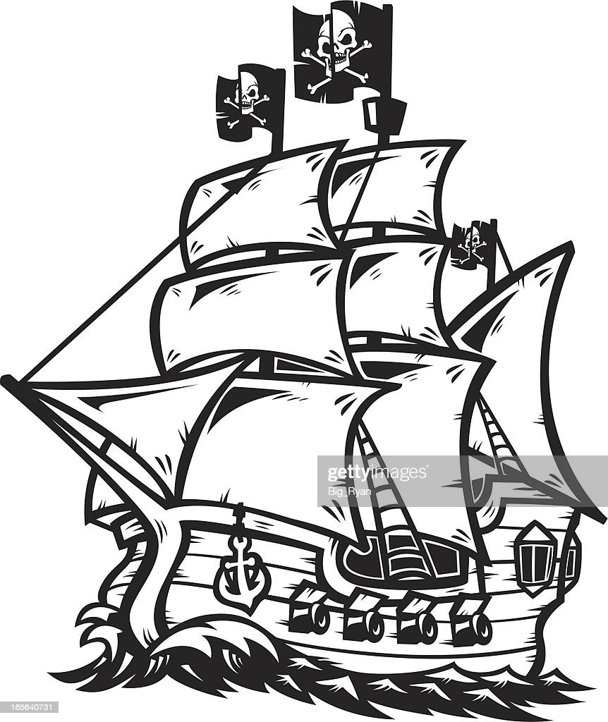 Astonishing How To Draw A Pirate Ship Auto Electrical Wiring Diagram Wiring 101 Cominwise Assnl