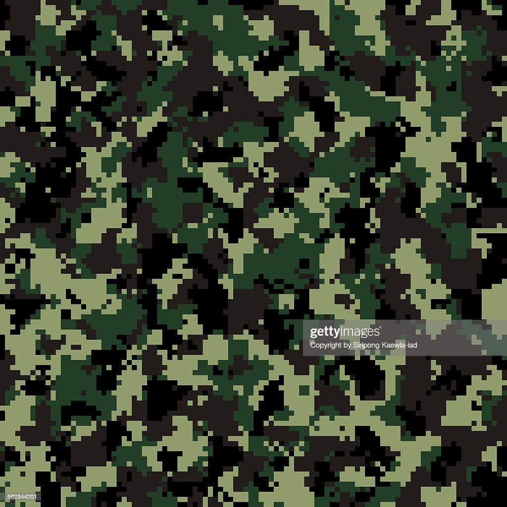 Military Camouflage Wallpaper Hd Thai Army Digital Camouflage Pattern Background Stock