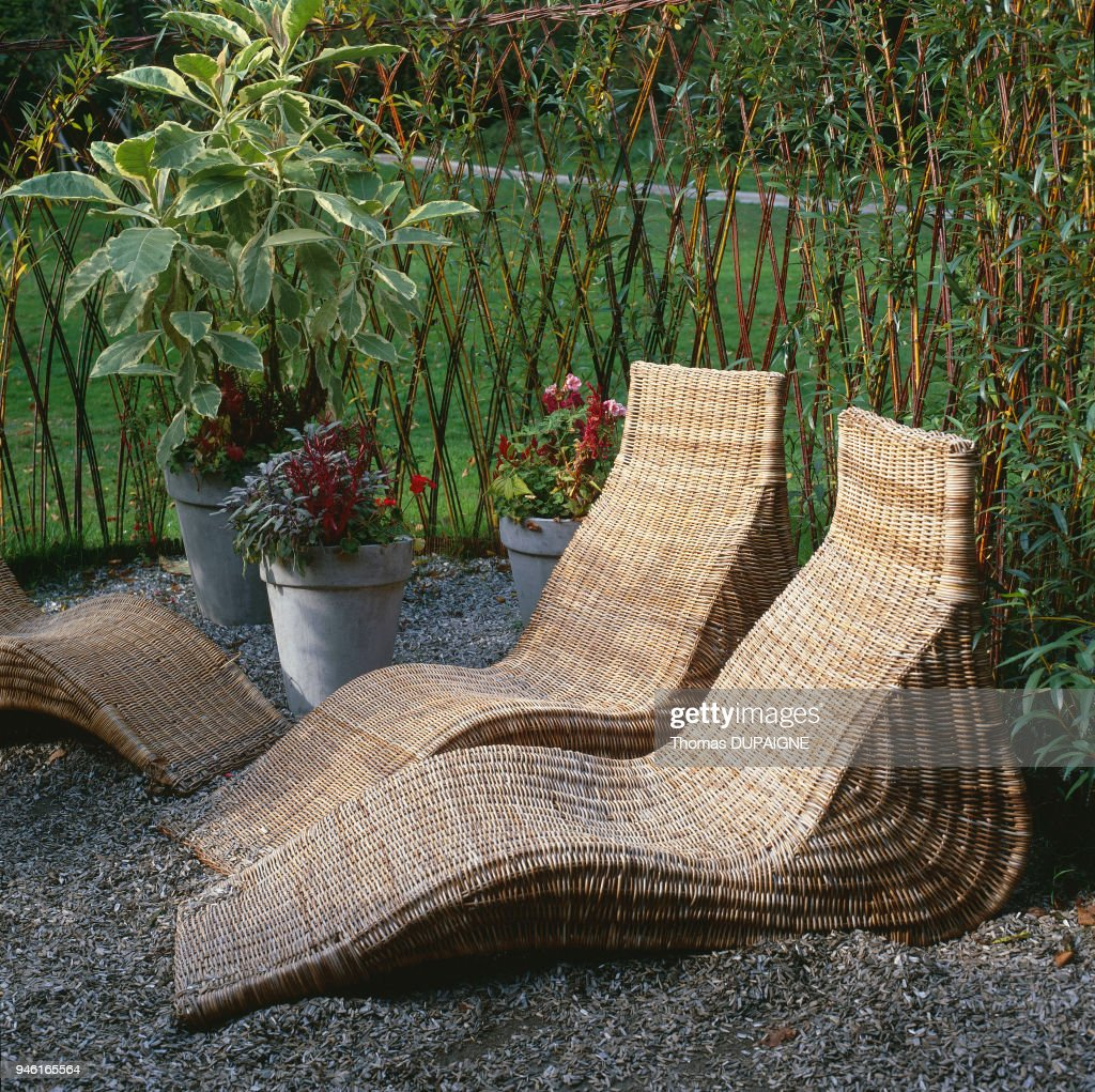 Mobilier De Jardin Wicker Mobilier De Jardin News Photo Getty Images