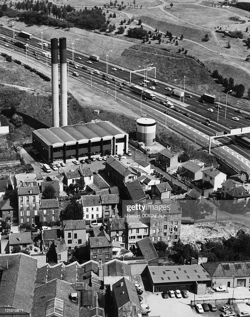 Gamma Close In Boiler Aerial View Of The Boiler Factory From The Tower Mercuriales
