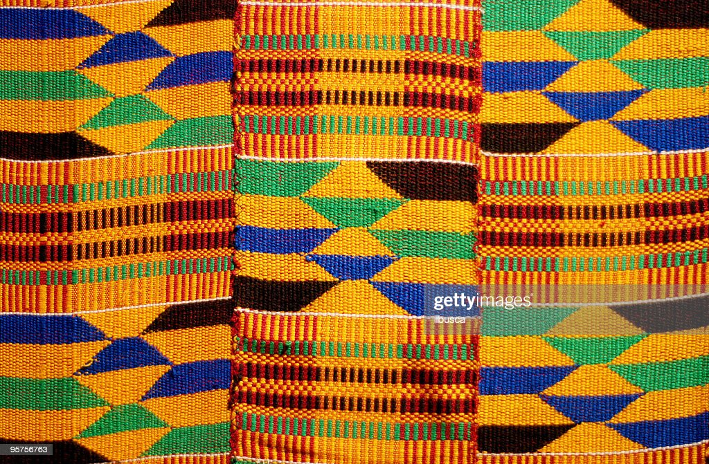 Kente Stock Photos and Pictures