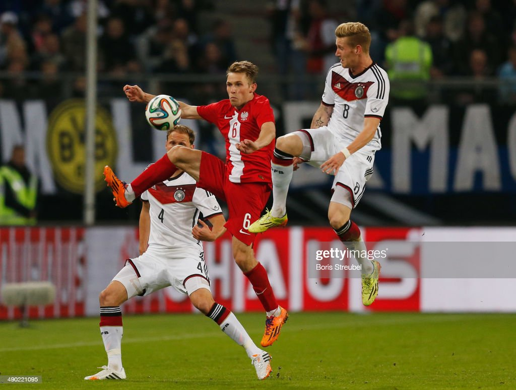 Benedikt Hahn Benedikt Hoewedes And Andre Hahn Of Germany Challenges Maciej