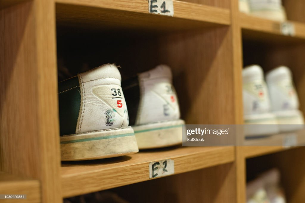 Bowling Shoe Stock Photos And Pictures Getty Images
