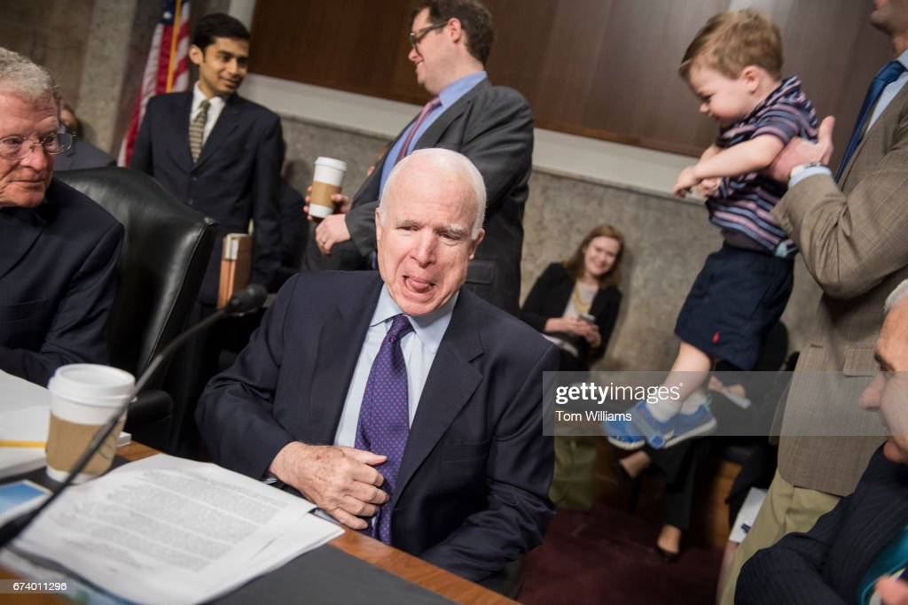 John S Mccain Jr Stock Photos And Pictures Getty Images