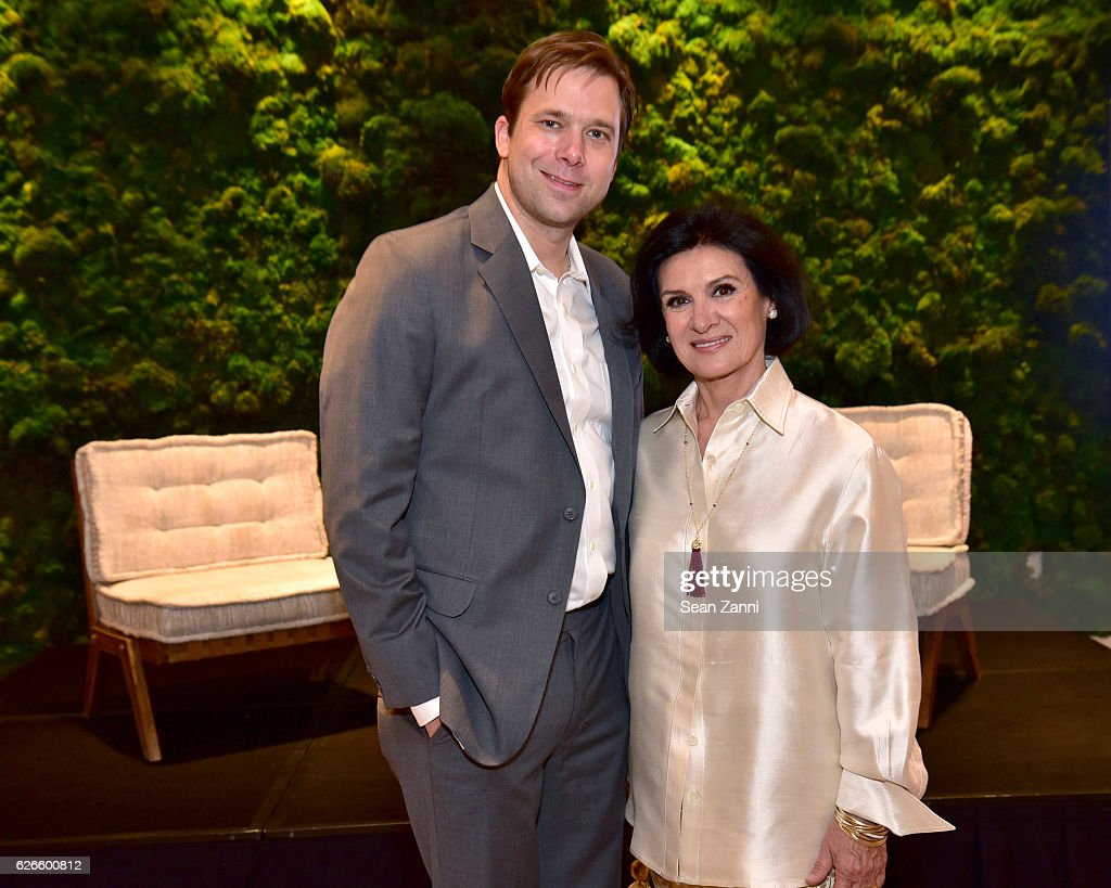 Paloma Picasso Chris Bollen And Paloma Picasso Attend Interview Tiffany Co