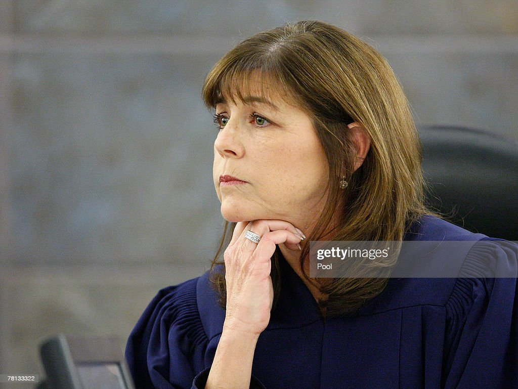Jackie Glass District Court Judge Jackie Glass Presides During O J Simpson S