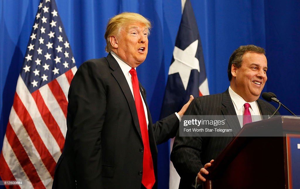 Chris christie getty images
