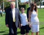 Donald And Melania Trump Barron