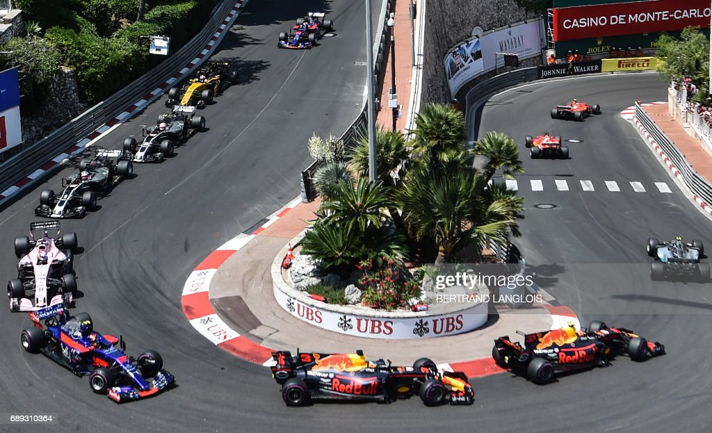 Safety Car Australian Grand Prix World 39;s Best Monaco Formula One Grand Prix Stock Pictures