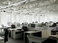 Empty Office Space Stock Photo
