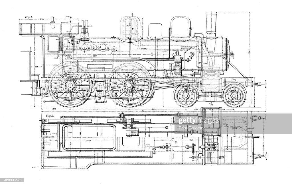 t s diagram steam locomotive
