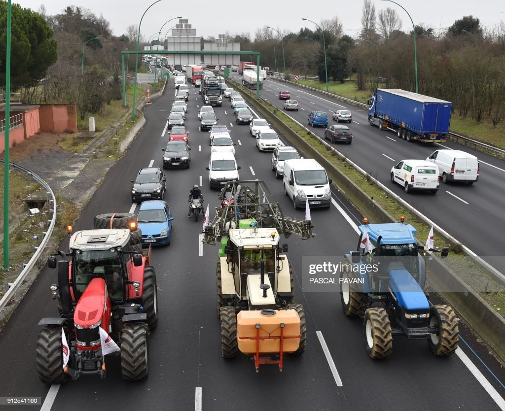 Drive Toulouse Farmers Demonstrate In Toulouse Against A Eu Policy Reform Foton