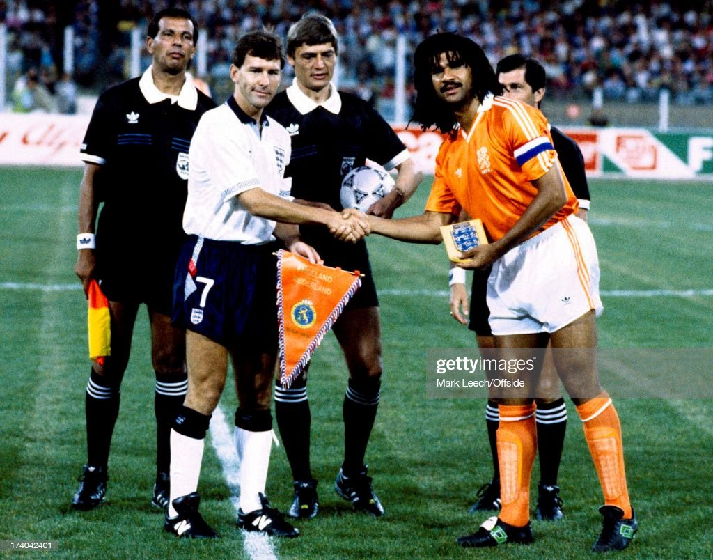 Hans Van Breukelen Football World Cup 1990 - England V Holland , Bryan Robson