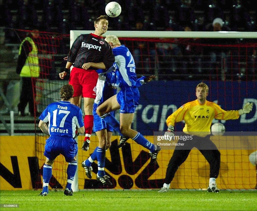 2 Bundesliga 04 05 Erfurt Eintracht Frankfurt Rot Weiss Erfurt News Photo Getty Images