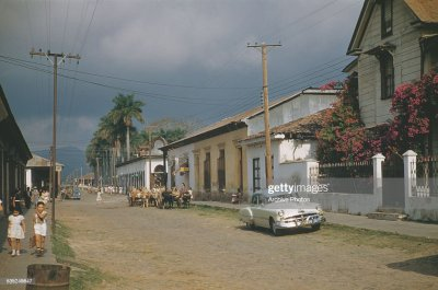 A general street scene in Santa Tecla, El Salvador, circa 1960. News Photo | Getty Images