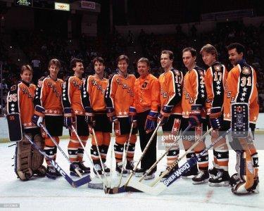 Glenn Erson And Wayne Gretzky