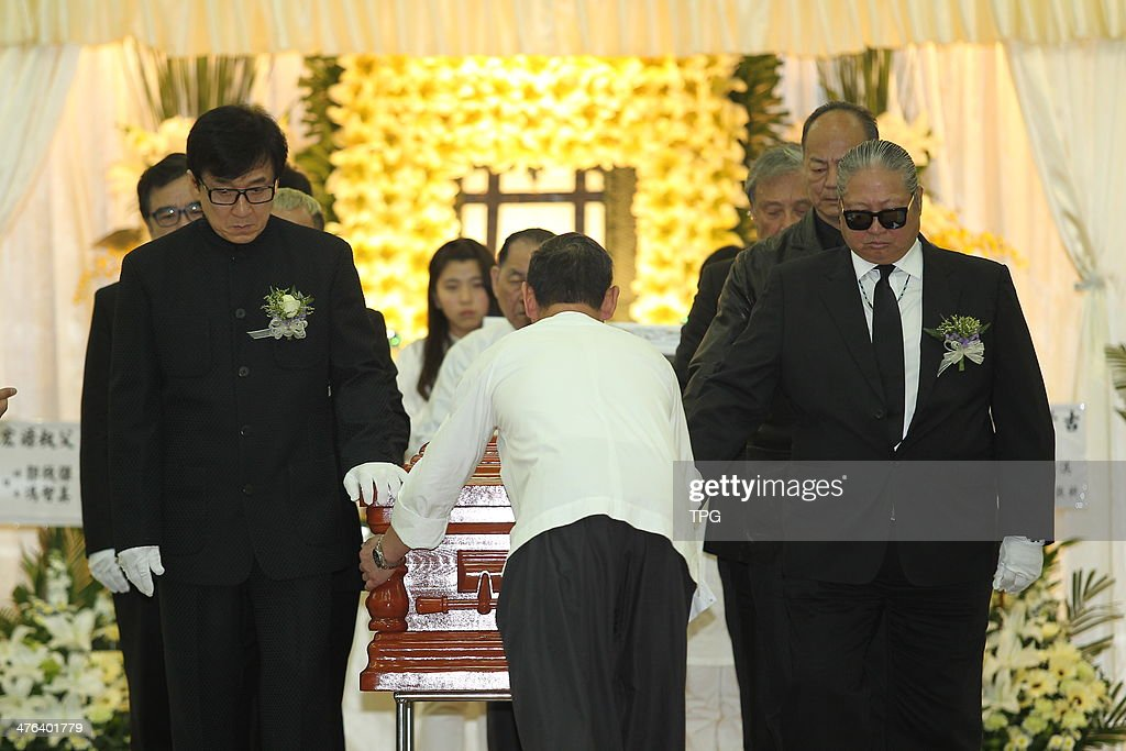 Tpg Tarieven Jackie Chan,sammo Hung And Eric Tsang Attend Funeral Of