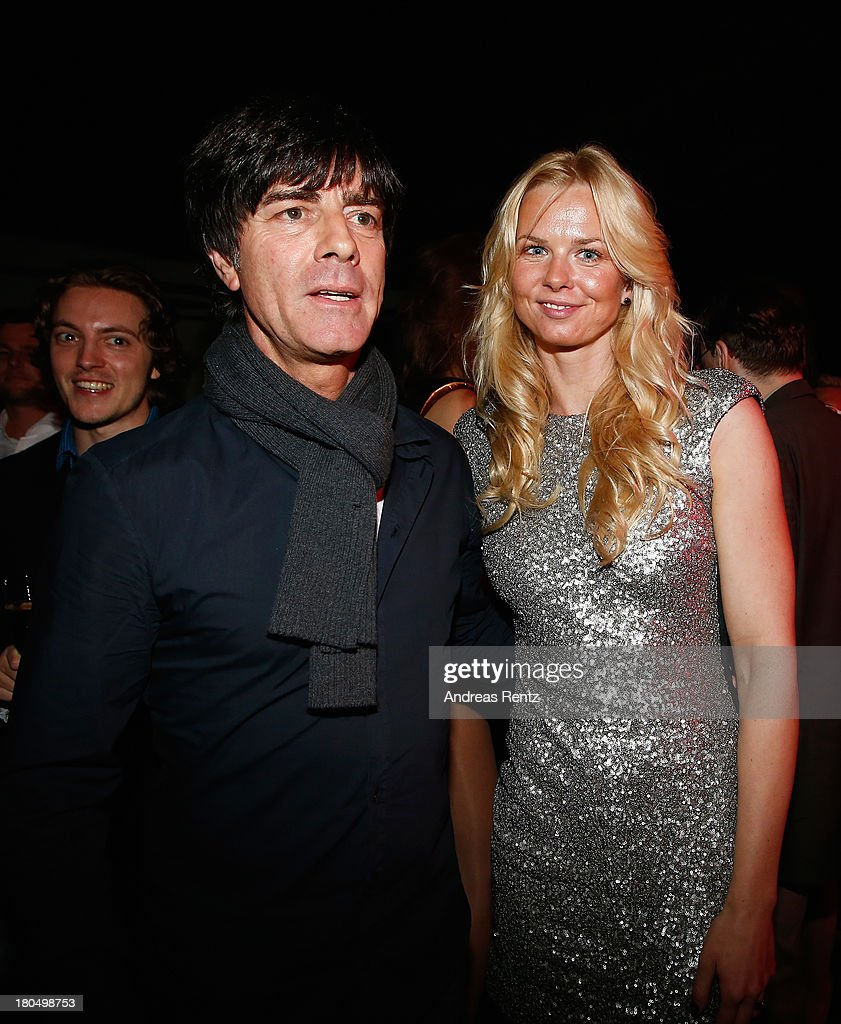 Shan Rahimkhan Berlin Joachim Loew And Britta Steffen Attend No1 True Berlin By Shan... News Photo - Getty Images