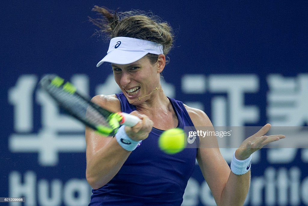 Wta Elite Trophy Stock Photos and Pictures | Getty Images