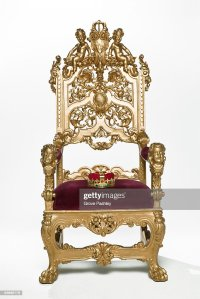 Crown Royal Throne Chair Stock Photos and Pictures | Getty ...