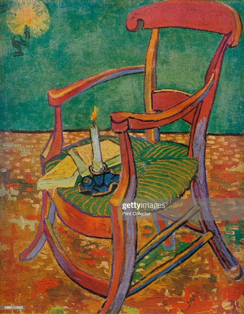 Le Fauteuil De Gauguin 39 1888 From Van Gogh Paintings