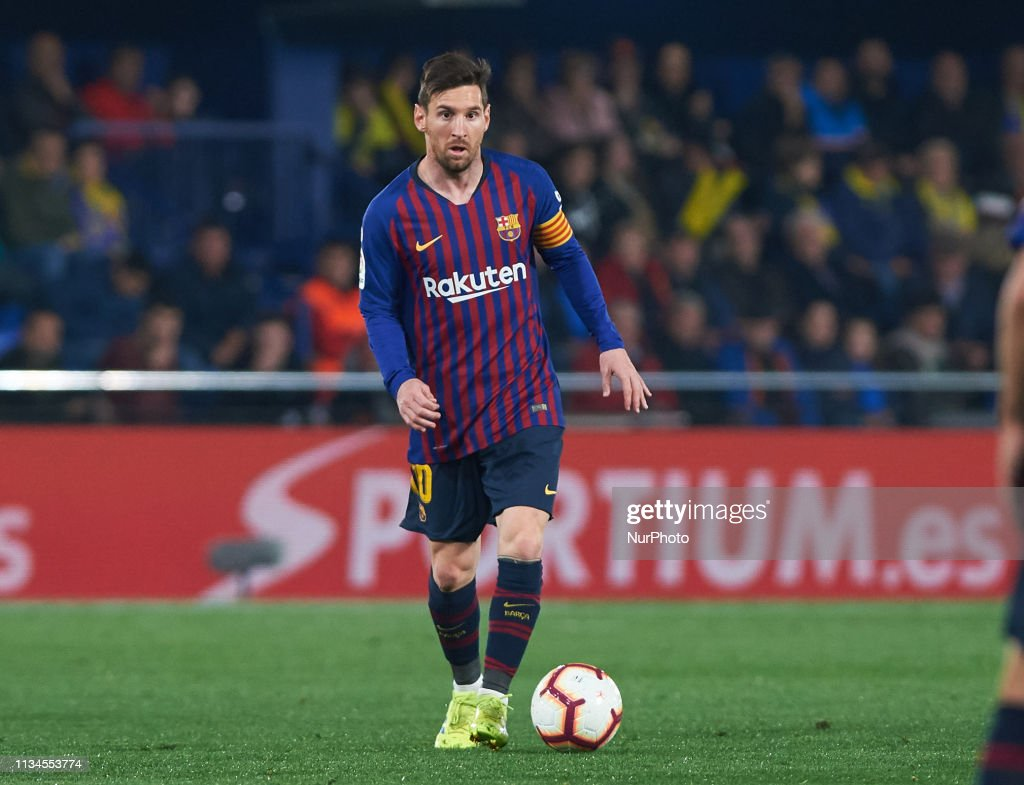 Leo Messi Leo Messi Of Fc Barcelona During The La Liga Match Between