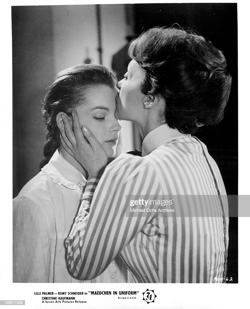 Arte Replay Romy Schneider Lilli Palmer Kissing Romy Schneider S Forehead In A Scene From The