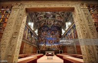 500 Years Since the Ceiling Of The Sistine Chapel Painted ...