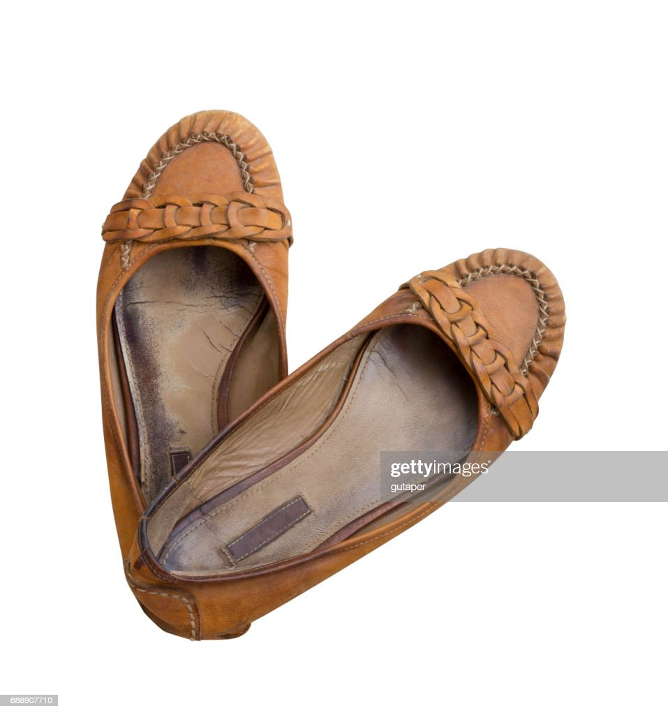 Https Www Gettyimages Ch Detail Foto Old Pair Of Womens Shoes Made Of Genuine Leather Lizenzfreies Bild 688907710