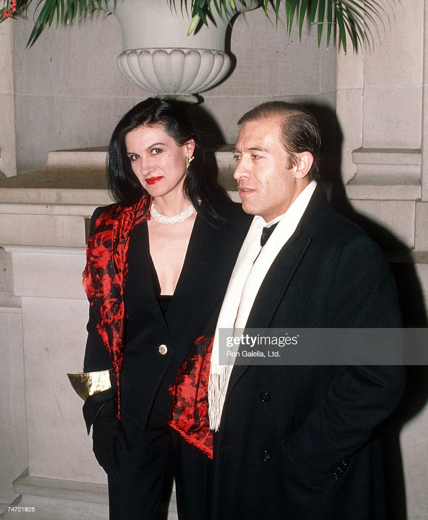 Paloma Picasso Paloma Picasso And Husband At The Metropolitan Museum Of Art In