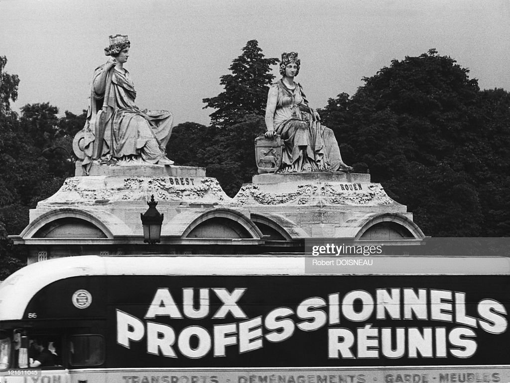 Paris Concorde Place Statues News Photo Getty Images