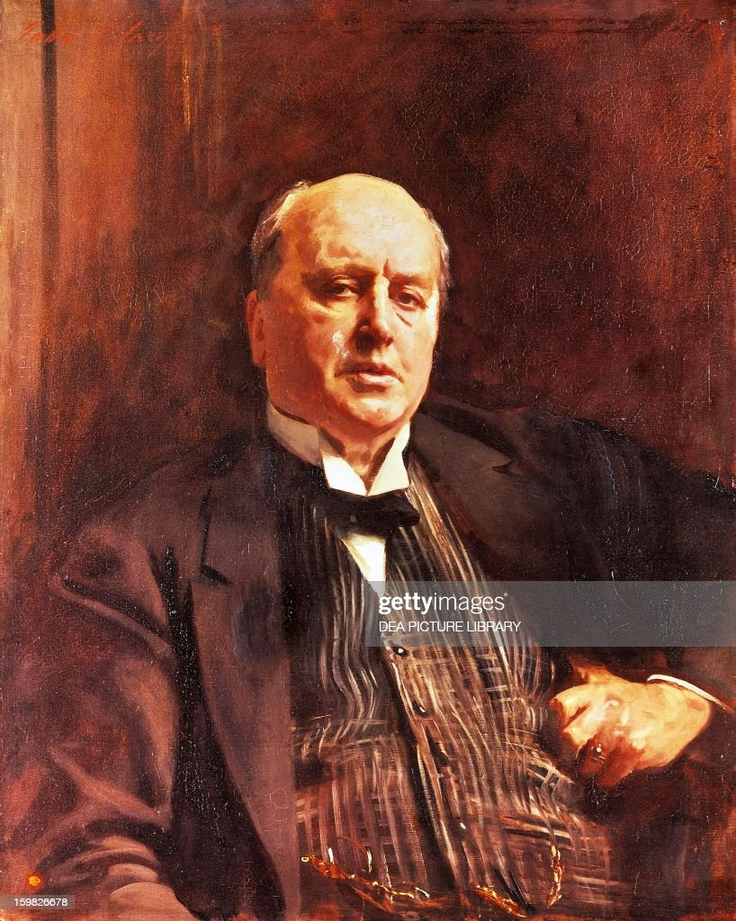 Henry James Portrait Of Henry James American Writer Painted In 1913 By John